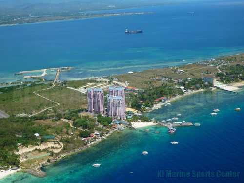 Cebu Island Hopping Hilton over view