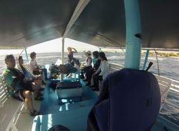 BBQ Lunch on Boat